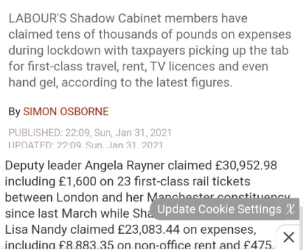 angela rayner expenses 2